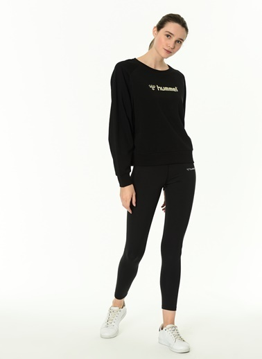 Hummel Kadın Sweatshirt Stella 921057-2001 Siyah